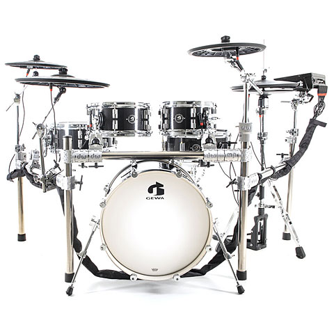 E-Drum Set Gewa G9-Pro C5 Carbon Wrap
