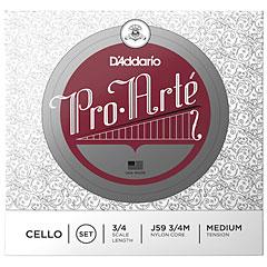 D'Addario J59 3/4 m Pro Arte « Cuerdas instr. arco