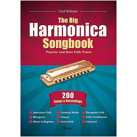 Notenbuch Olaf Böhme Verlag The Big Harmonica Songbook - Popular and Rare Folk Tunes