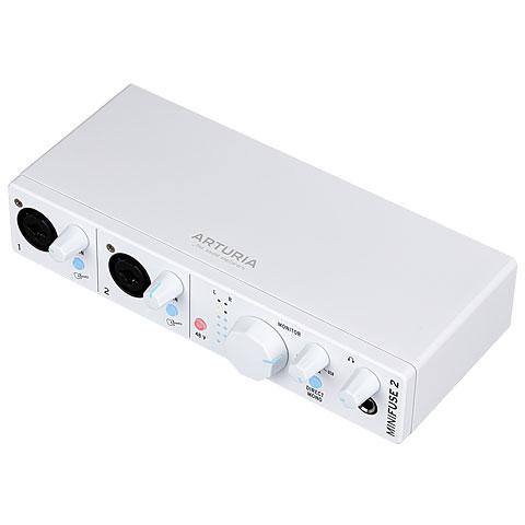 Audio Interface Arturia MiniFuse 2 White