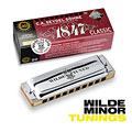 Richter-Mundharmonika C.A. Seydel Söhne Blues 1847 Classic - Wilde Minor Tuning D