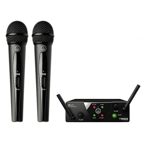 Funkmikrofon AKG WMS 40 Mini-Dual-Vocal-ISM