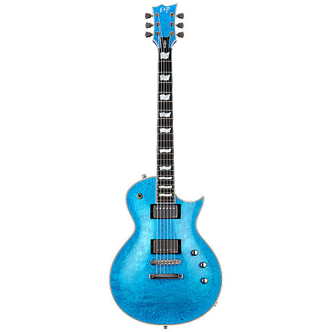 ESP Eclipse Custom Blue Liquid Metal « E-Gitarre