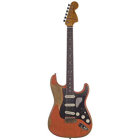 Fender Custom Shop 1969 Relic Strat, Aged Tahitian Coral « E-Gitarre