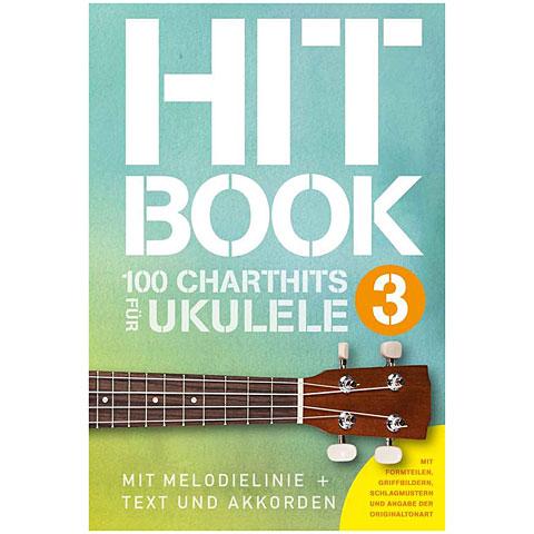 Notenbuch Bosworth Hitbook 3 - 100 Charthits für Ukulele