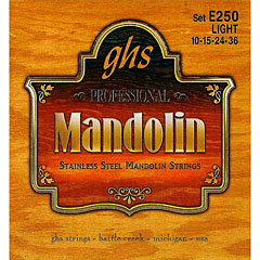 GHS E250 Stainless Steel Mandolin Strings « Cuerdas