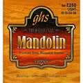 Saiten Zupfinstrument GHS E250 Stainless Steel Mandolin Strings