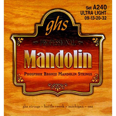 GHS A240 Phosphor Bronze Mandolin Strings