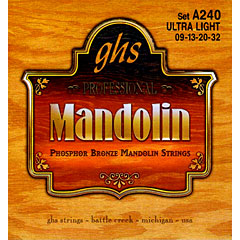 GHS A240 Phosphor Bronze Mandolin Strings « Cuerdas