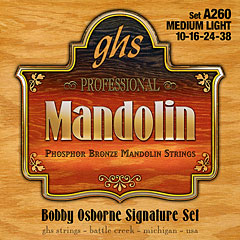 GHS A260 Phosphor Bronze Mandolin Strings « Cuerdas