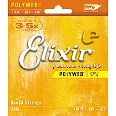 Elixir Polyweb Banjo Light .009-020