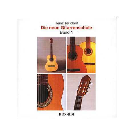 Ricordi Die neue Gitarrenschule CD zu Bd.1