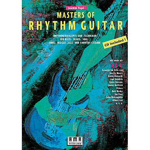 Leerboek AMA Masters of Rhythm Guitar