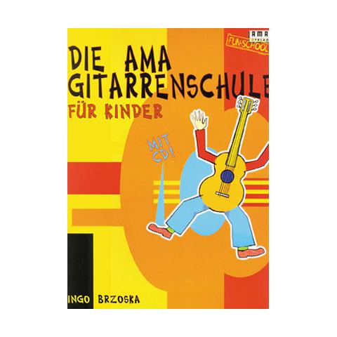 Libros didácticos AMA Die AMA Gitarrenschule für Kinder