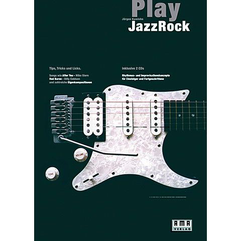 Lehrbuch AMA Play Jazz Rock