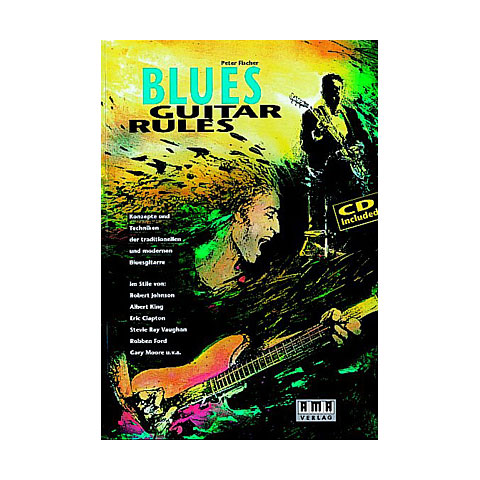 Libros didácticos AMA Blues Guitar Rules