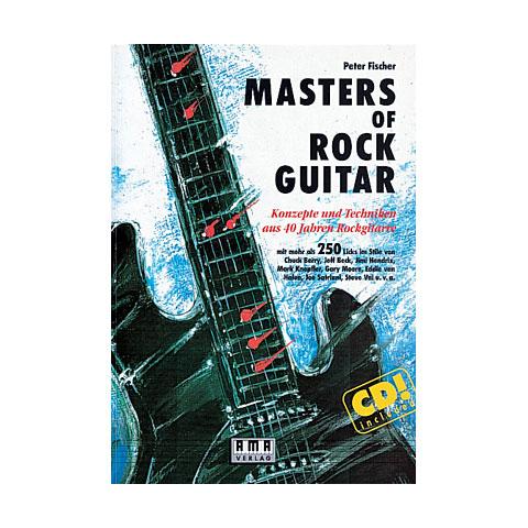 Manuel pédagogique AMA Masters of Rock Guitar