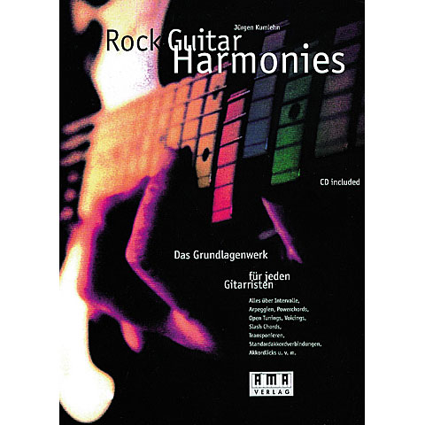 AMA Rock Guitar Harmonies