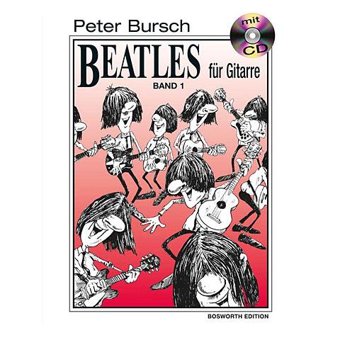 Notenbuch Bosworth Beatles für Gitarre 1
