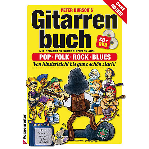 Instructional Book Voggenreiter Peter Bursch's Gitarrenbuch 1