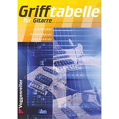 Voggenreiter Grifftabelle für Gitarre « Manuel pédagogique