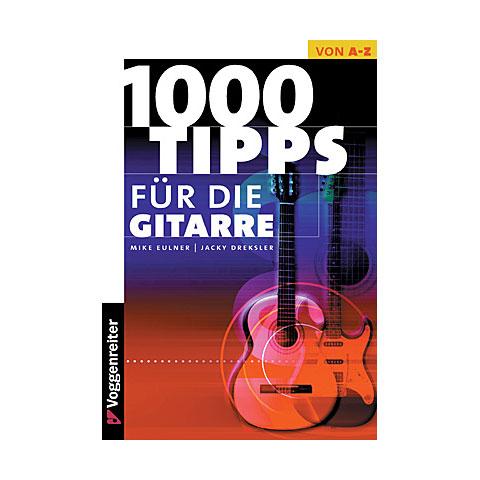 Libros guia Voggenreiter 1000 Tipps für die Gitarre