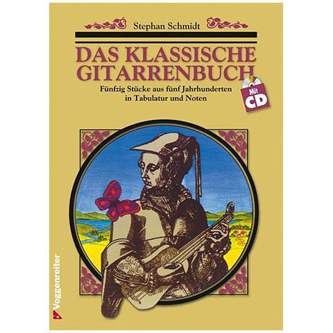 Libro de partituras Voggenreiter Das klassische Gitarrenbuch