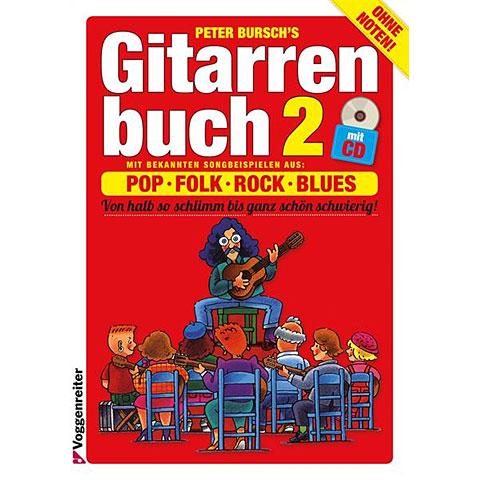 Manuel pédagogique Voggenreiter Peter Bursch's Gitarrenbuch 2