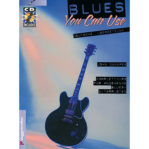 Lehrbuch Voggenreiter Blues You Can Use