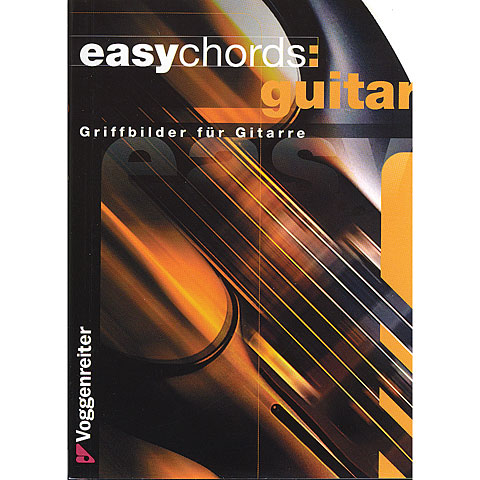 Libros didácticos Voggenreiter Easy Chords Guitar