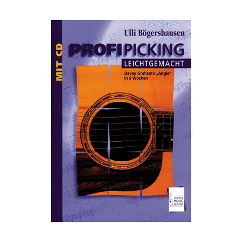 Lehrbuch Acoustic Music Books Profi Picking leichtgemacht