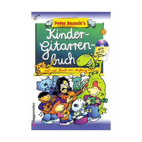 Childs Book Voggenreiter Peter Bursch's Kinder-Gitarrenbuch