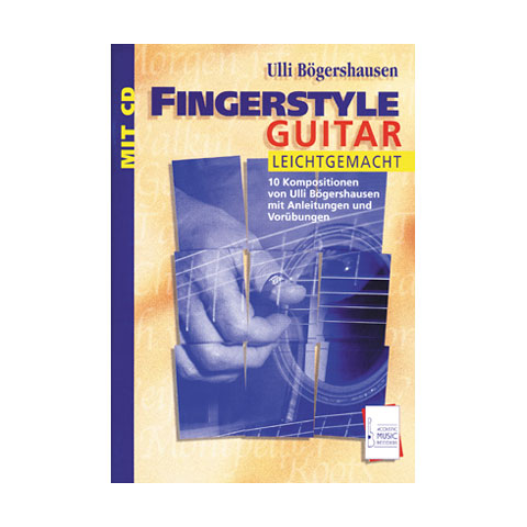 Lehrbuch Acoustic Music Books Fingerstyle Guitar leichtgemacht