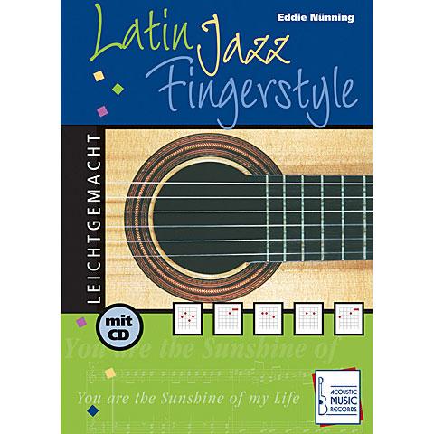 Manuel pédagogique Acoustic Music Books Latin Jazz Fingerstyle