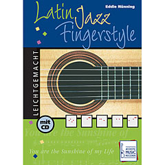 Acoustic Music Books Latin Jazz Fingerstyle « Libros didácticos