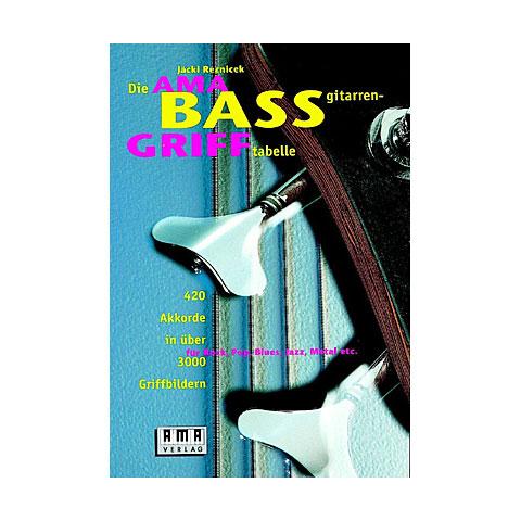 Lehrbuch AMA Bassgrifftabelle