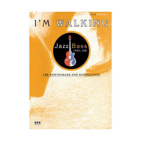 Instructional Book AMA I`m Walking Jazz Bass