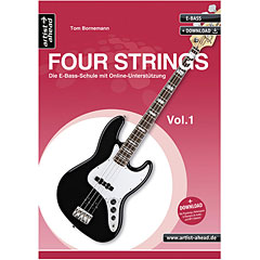 Artist Ahead www.FOUR-STRINGS.de Vol.1 « Libros didácticos