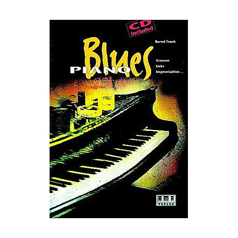 Libros didácticos AMA Blues Piano