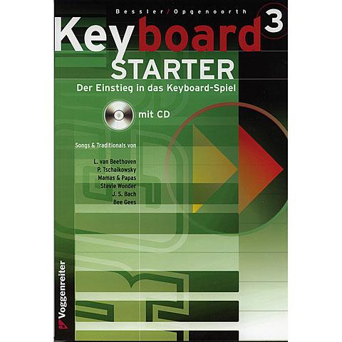 Libros didácticos Voggenreiter Keyboard Starter 3