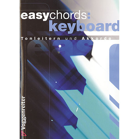 Instructional Book Voggenreiter Easy Chords Keyboard