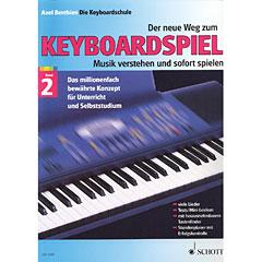 Schott Der neue Weg zum Keyboardspiel Bd.2 « Libros didácticos