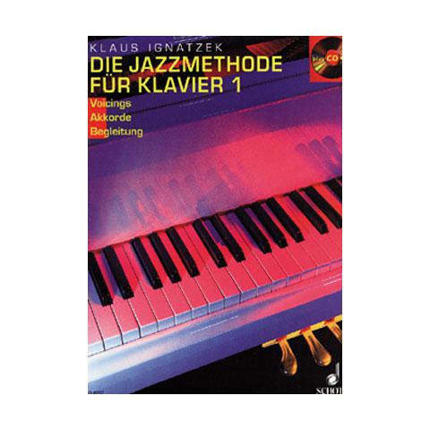 Schott Die Jazzmethode für Klavier Bd.1