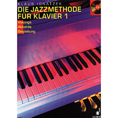 Schott Die Jazzmethode für Klavier Bd.1 « Lehrbuch