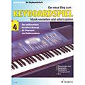 Учебное пособие  Schott Der neue Weg zum Keyboardspiel Bd.4