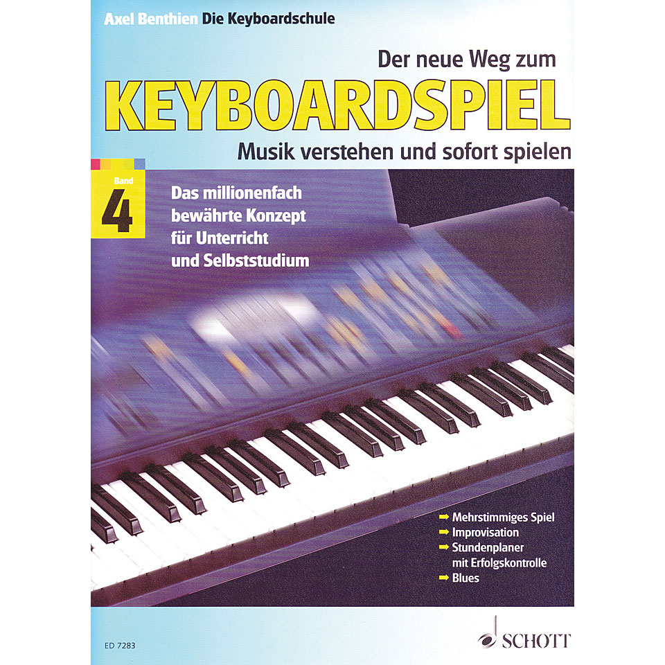 Schott Der Neue Weg Zum Keyboardspiel Bd 4 171 Instructional