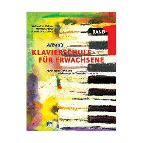 Manuel pédagogique Alfred KDM Klavierschule Für Erwachsene 1