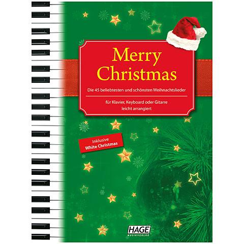 Hage Merry Christmas für Klavier