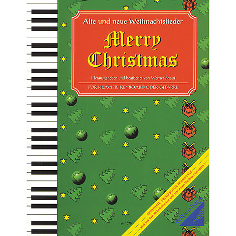 Hage Merry Christmas für Klavier/Keyboard/Gitarre