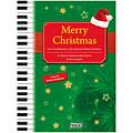 Βιβλίο τραγουδιών Hage Merry Christmas für Klavier/Keyboard/Gitarre